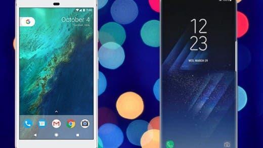 Así sería una fusión del Samsung Galaxy S8 y el Google Pixel