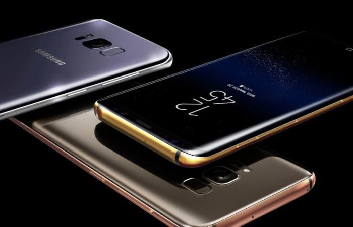 Samsung Galaxy S8 de oro