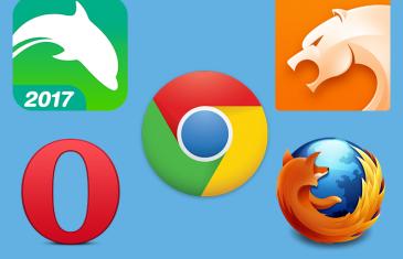 Los 5 mejores navegadores web para tu móvil