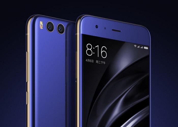características y precio del Xiaomi Mi6