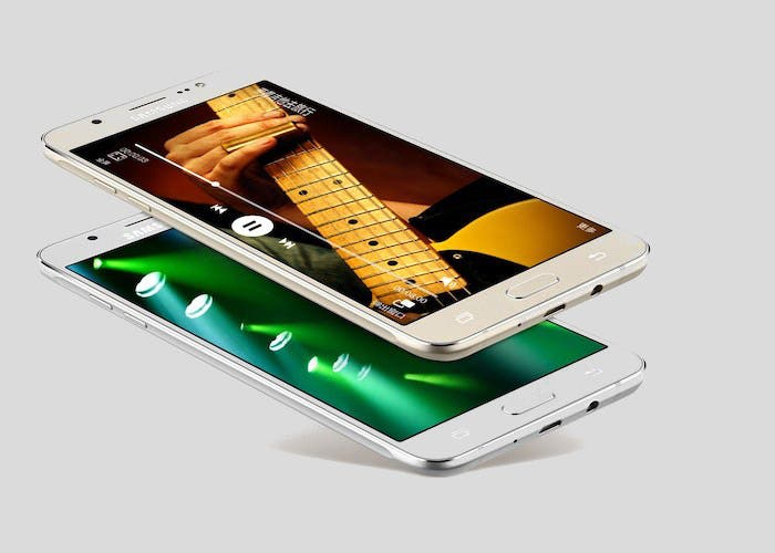 diseño del Samsung Galaxy J7