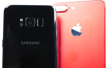 Comparativa de la cámara del Samsung Galaxy S8 vs iPhone 7 Plus
