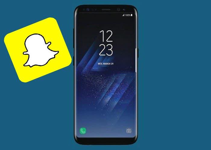 Los filtros de Snapchat en el Samsung Galaxy S8, para Instagram