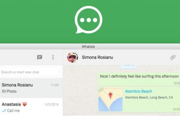 Whatsie, la mejor aplicación de WhatsApp para ordenador