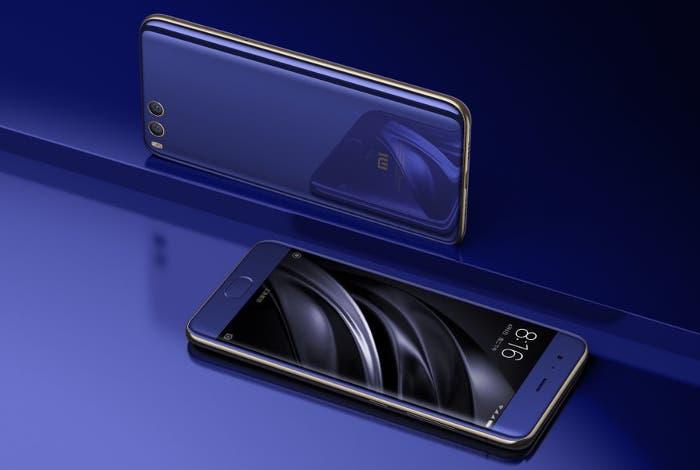 diseño del Xiaomi Mi6 Plus