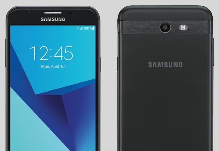 diseño del Galaxy J7