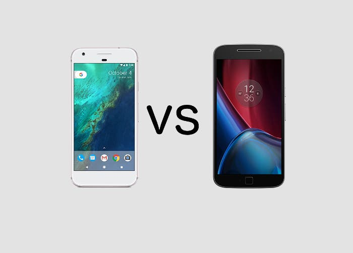 Google Pixel vs Moto G5 Plus