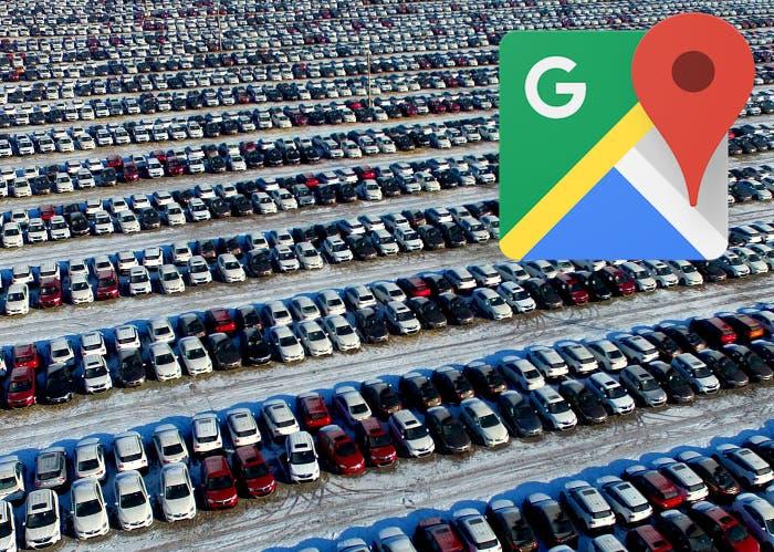 guardar el aparcamiento en Google Maps
