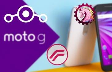 Las 5 mejores ROMs para el Motorola Moto G3