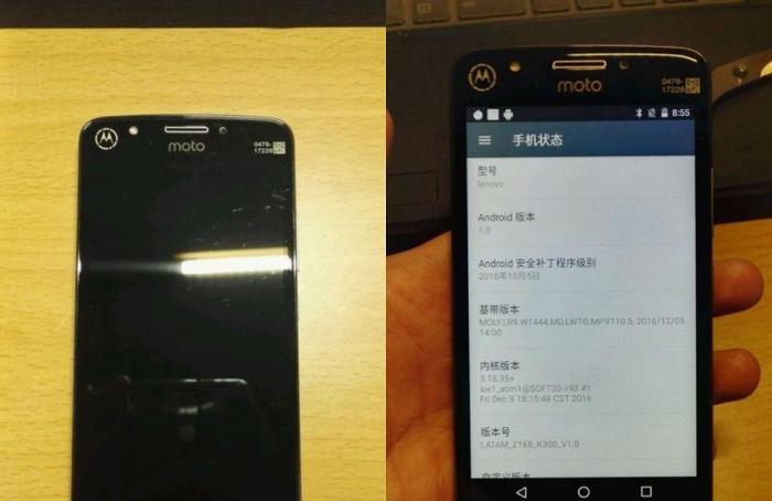 fotografías del Moto E4 Plus