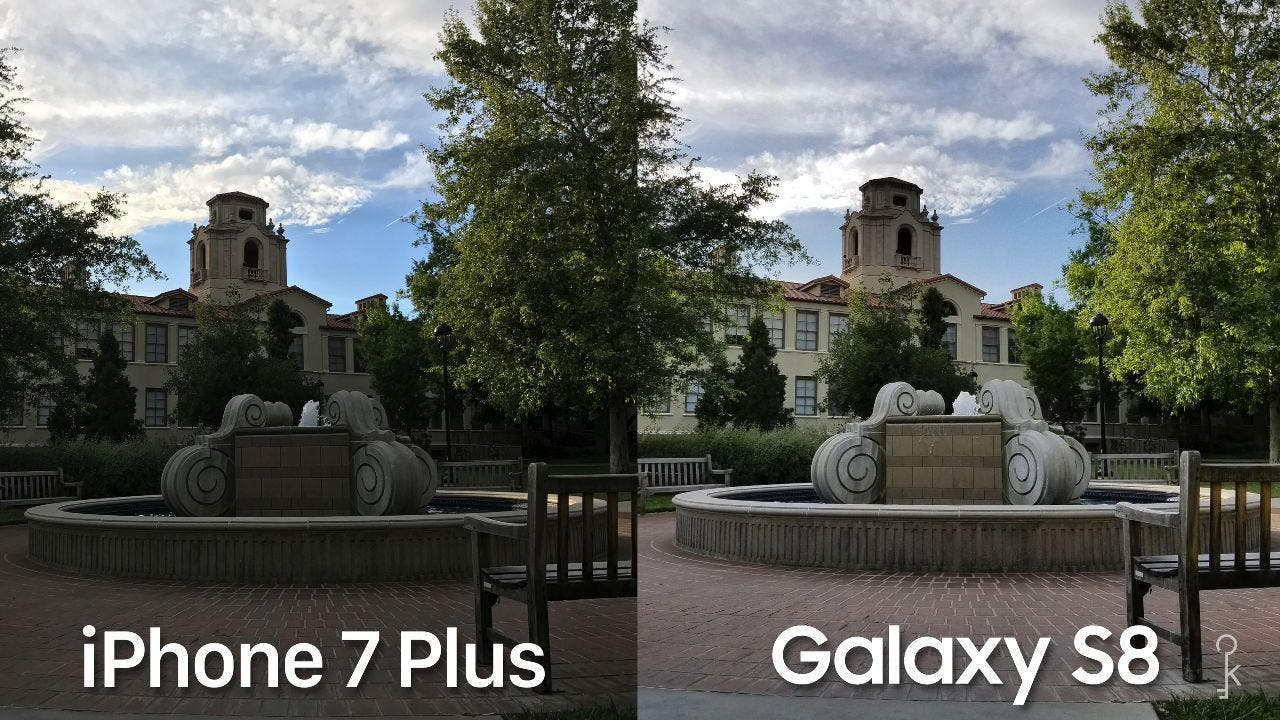 Comparativa De La Camara Del Samsung Galaxy S8 Vs IPhone 7