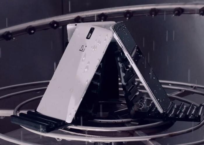 resistencia al agua del OnePlus 5