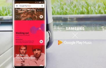 El reproductor del Samsung Galaxy S8 pasa a ser Google Play Music