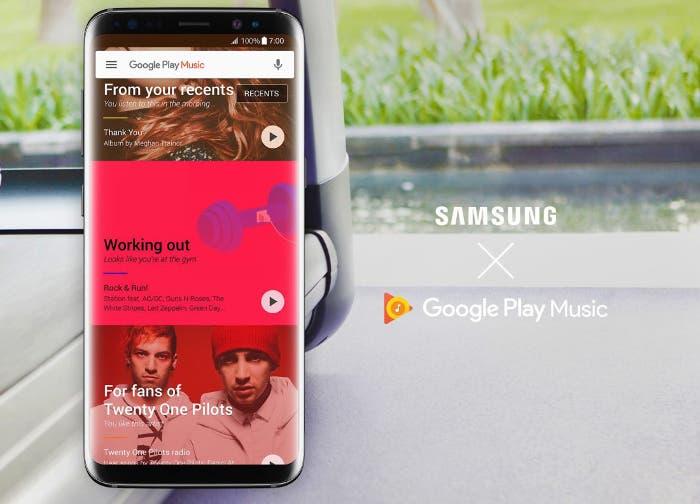 reproductor del Samsung Galaxy S8