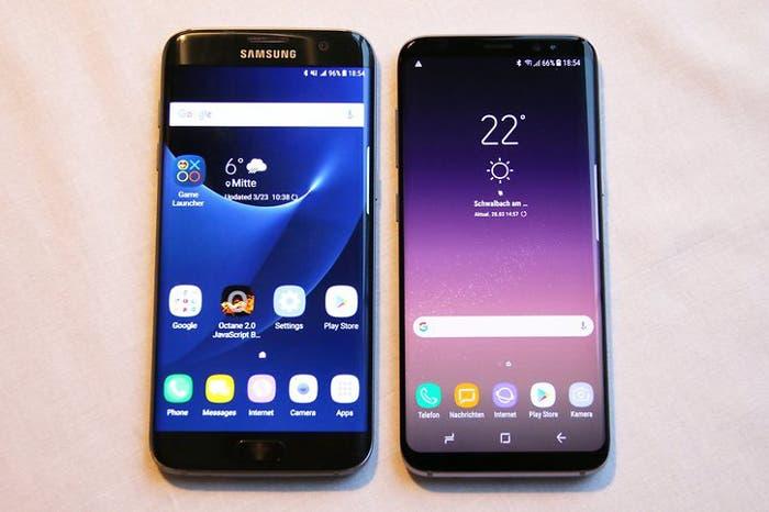interfaz del Galaxy S8