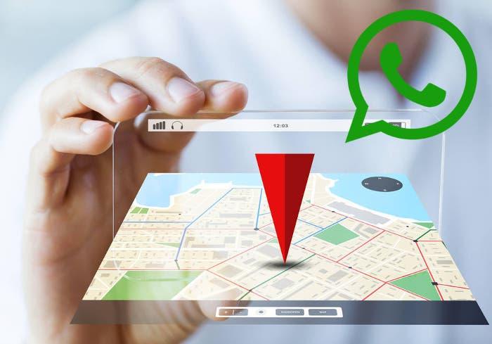 Compartir tu ubicación con WhatsApp