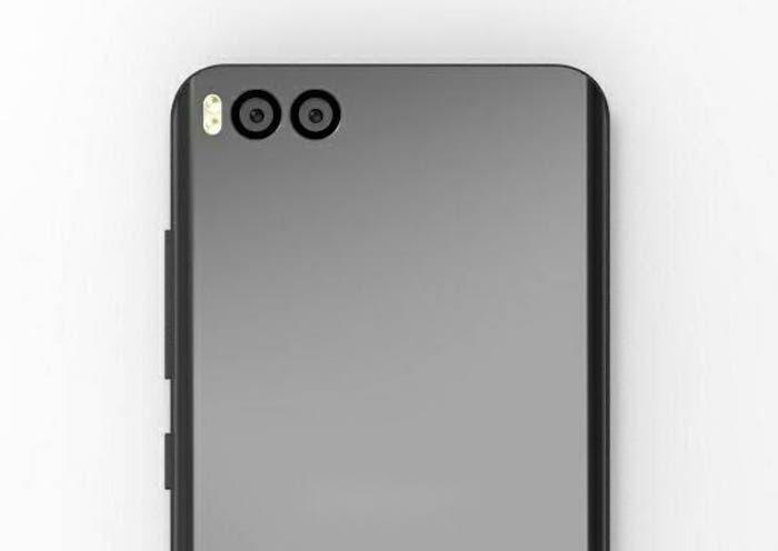 características y diseño del Xiaomi Mi6