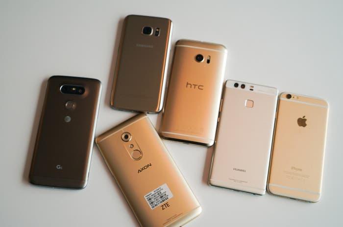 móviles de gama alta por menos de 450 euros