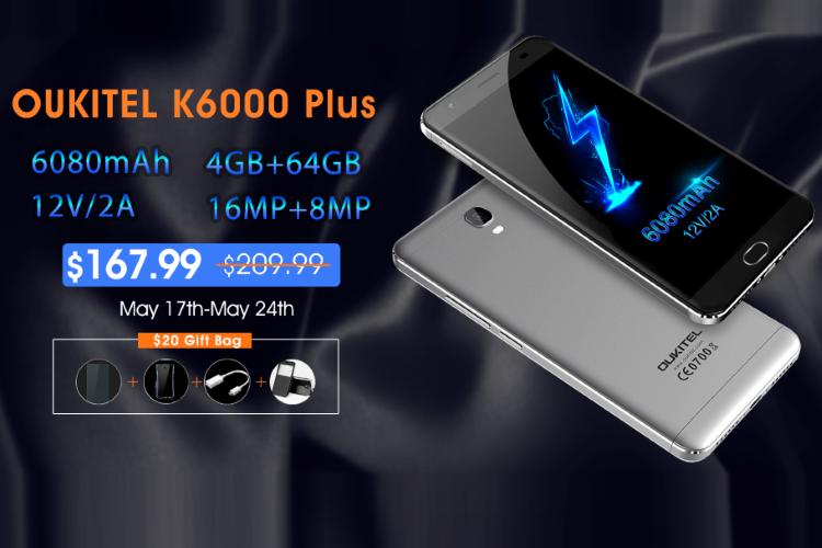 OUKITEL K6000 Plus en oferta