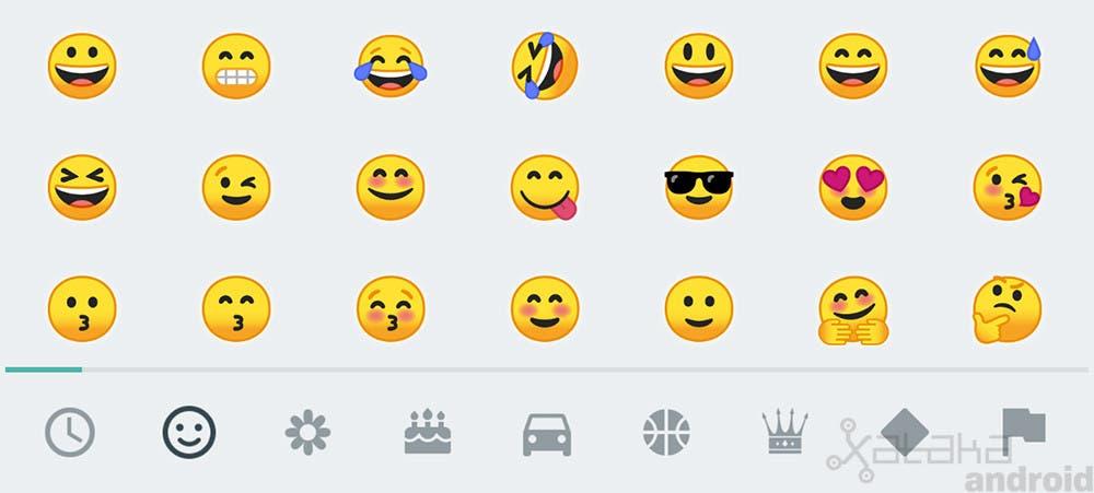 nuevos emojis android o