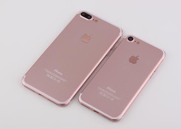 iphone 7 y 7 plus oro