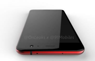 Aparece en un vídeo el diseño del HTC U 11 en color rojo brillante