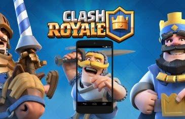 Cómo grabar tus partidas de Clash Royale en Android