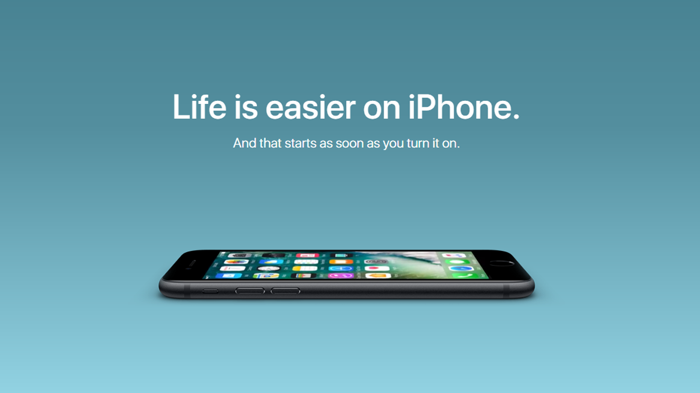 Campaña web Android vs Apple
