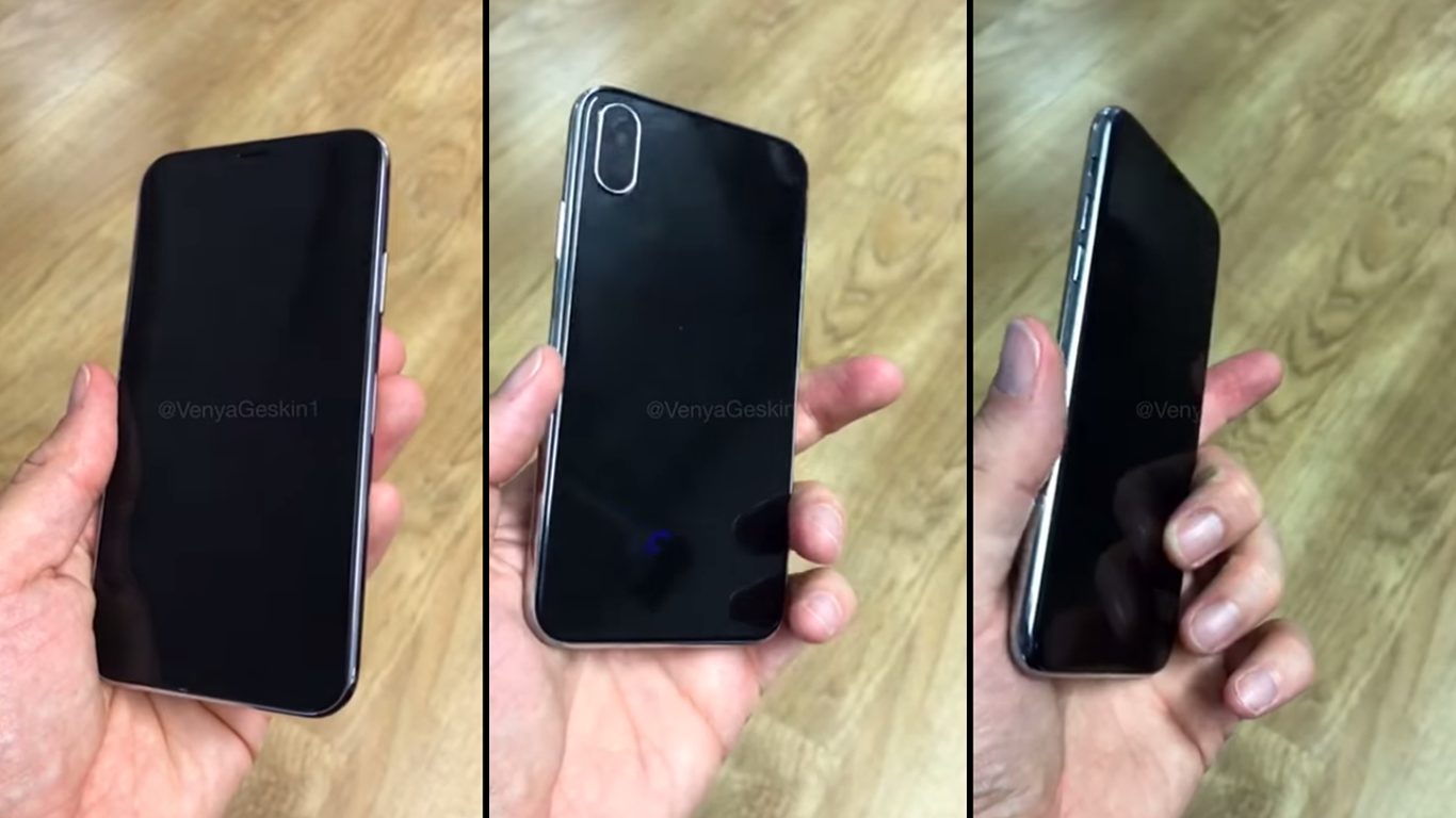 Concepto iPhone 8 en vídeo