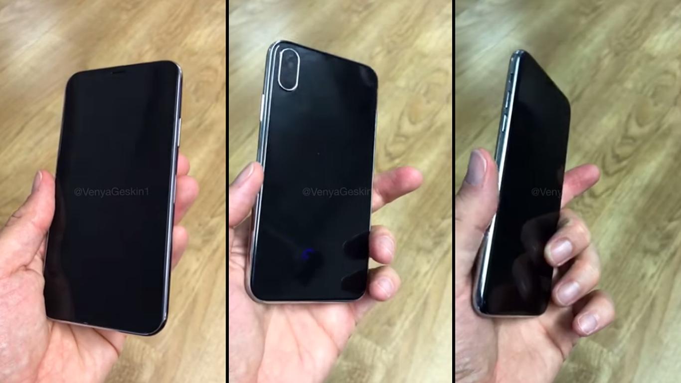 Concepto iPhone 8 en vídeo
