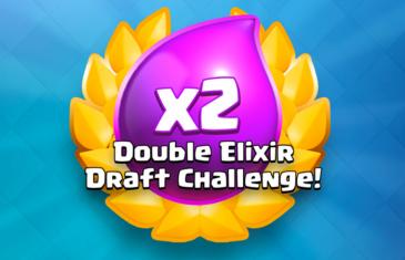Nuevo desafío de elección de doble elixir en Clash Royale