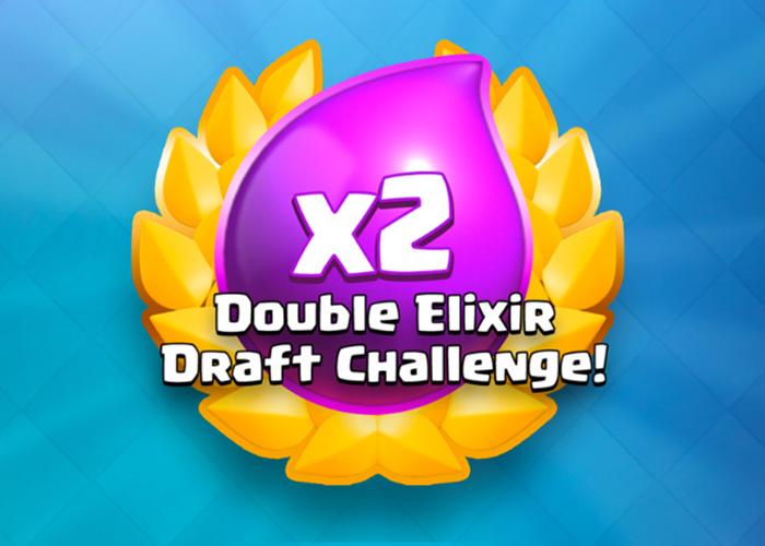 Desafío de elección de doble elixir en Clash Royale