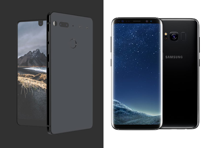 Essential Phone vs Samsung Galaxy S8