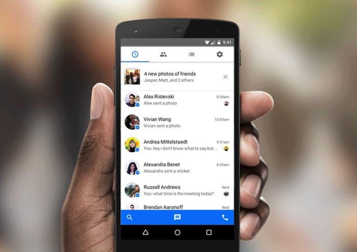Facebook ya prueba Messenger dentro de su aplicación ¿Reintegración en marcha?