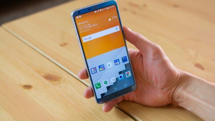 LG G6 en mano