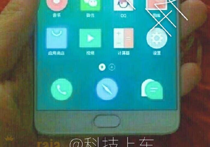 diseño del Meizu MX7