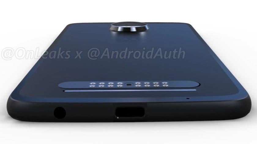 Motorola Moto™ Z2 inferior