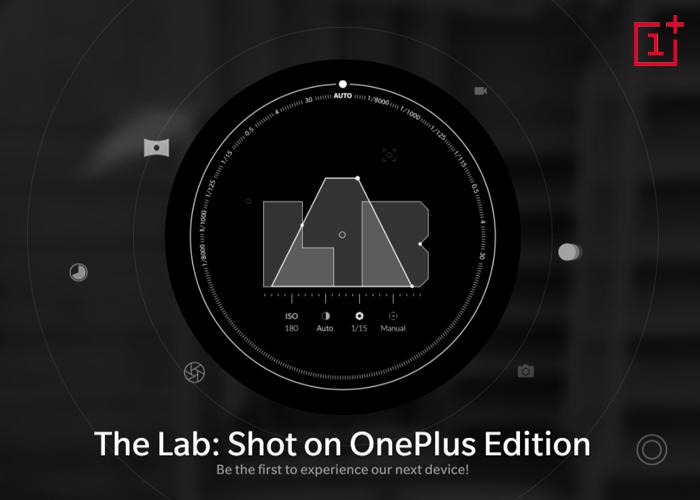 Promoción del OnePlus cinco LAB