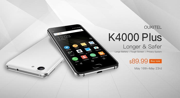 Oukitel K4000 Plus preventa
