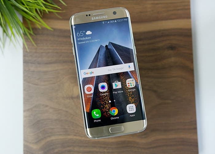 Samsung Galaxy S7 Edge madera