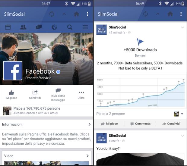 SlimeSocial for Facebook