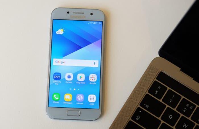 Android 7 para el Samsung Galaxy A3 2017