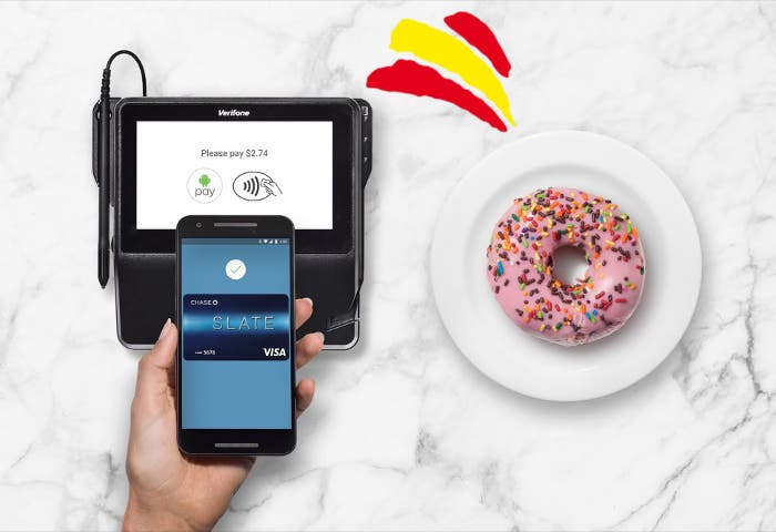 android pay donuts