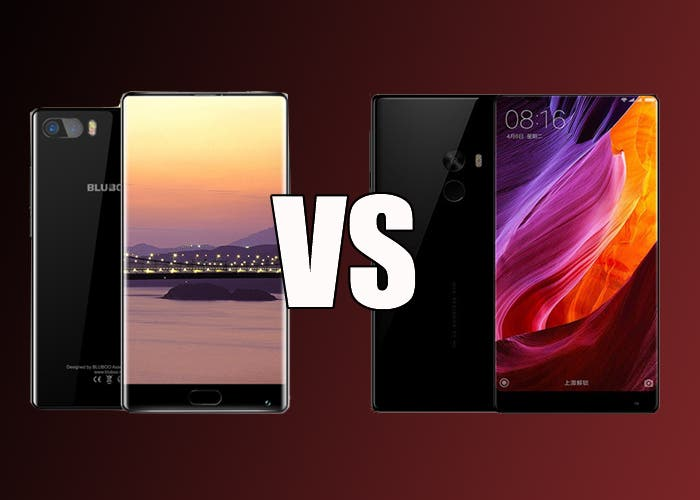 BLUBOO S1 VS Xiaomi Mi Mix