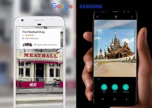 Google Lens vs Samsung™ Bixby Vision
