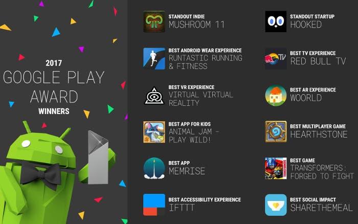 mejores aplicaciones 2017 google play