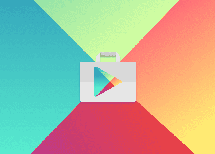 icono google play colores