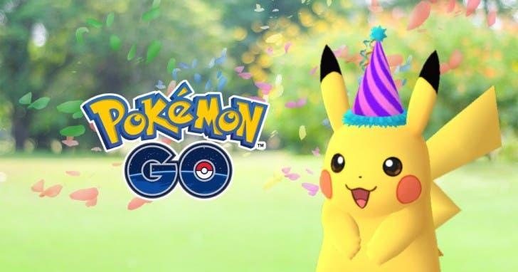 pokemon go aniversario