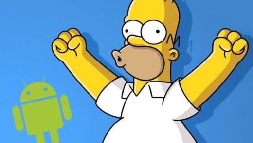 Cómo ver Los Simpson en tu móvil Android