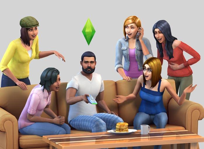 Los Sims sillón